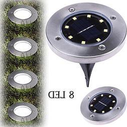 8269898 Model 1 pc 8 LED Solar Underground Light Floor Light