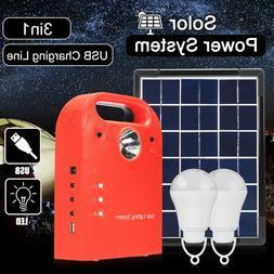 9V 5W Portable Solar Panels Light Charging Generator Power S