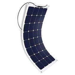 ACOPOWER 110 W Flexible Solar Panel, Thin Lightweight ETFE S