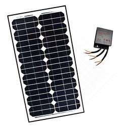 ALEKO SP30W24VLM118 24V 30-Watt Monocrystalline Solar Panel