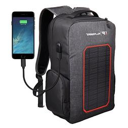 ALLPOWERS Solar Backpack with Built-in 7W Solar Panel, 6000m