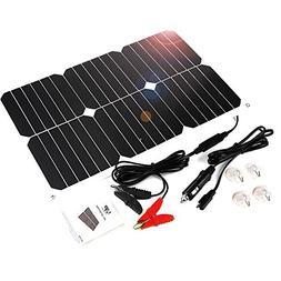 ALLPOWERS Solar Battery Maintaner 18V 12V 18W Solar Car Boat