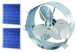 Brightwatts - Ultimate Gable Fan with 25w Solar Panel