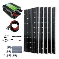 ECO-WORTHY 800W 12V Off Grid Battery Charging Complete Solar