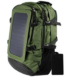 GDSZ Hiking Backpack, Solar Backpack, Laptop Backpack With S