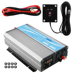 GIANDEL 2000Watt Power Inverter 12V DC to 110V 120V AC with