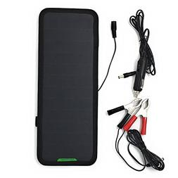 GIARIDE 18V 12V 7.5W Solar Car Battery Charger Sunpower Sola