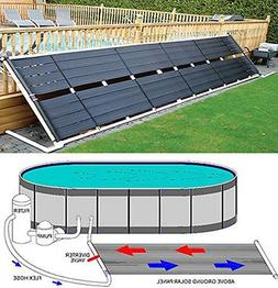 "Garden&Park Above Ground Pool Solar Heater 48"" x 20' 80 Sq F"
