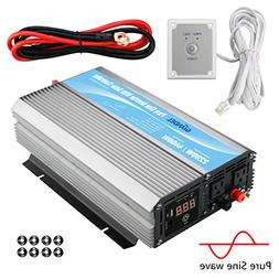 Giandel 2200W Pure Sine Wave Power Inverter 12V DC to 120V A