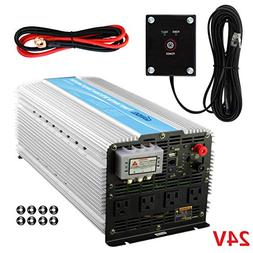 Giandel 5000Watt Heavy Duty Power Inverter 24V DC to 120V AC