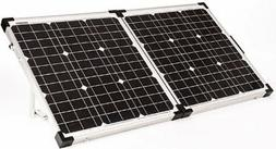Go Power - 80 Watt / 4.4 Amp Portable Folding Solar Kit W/So