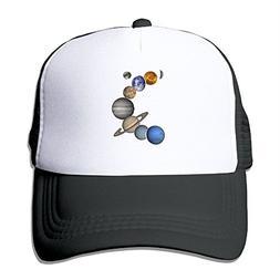 HAT-HAT Solar System Planets Unisex Adjustable Snapback Hats