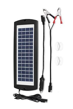 MoPower2U Solar Charger Battery Level Maintainer - Portable