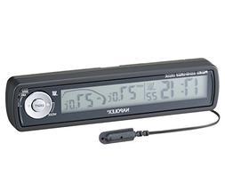 Napolex Fizz-855 Car Dash Mounts Digital Radio Clock with In