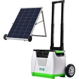 Nature's Generator - 1800W Solar & Wind Powered Generator -