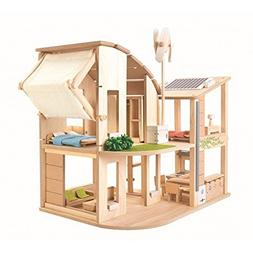 PlanToys The Green Dollhouse with Furniture