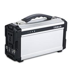 Portable Generator, SUAOKI 222Wh Power Sation Power Supply R