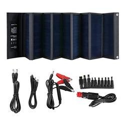 SUAOKI 60W Portable Sunpower Mono-crystalline Solar Panel wi