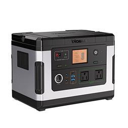 SUAOKI Solar Generators, G500 Portable Power Station 500Wh C