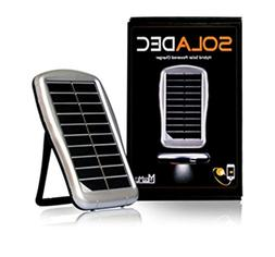 Soladec Hybrid All-in-One Portable Solar Power Charger and E