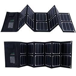 Solar Charger 40W Portable Solar Panel Foldable High Efficie