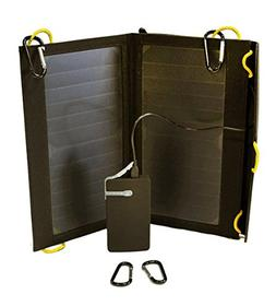 SolarGoPack FLAIR II - 2 Panel, Portable, and Folding 13 Wat