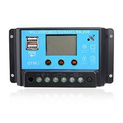 Sunix 20A 12V/24V Solar Charge Controller Charge Regulator I