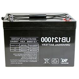 Universal UB121000-45978 12v 100AH Deep Cycle AGM Battery 12
