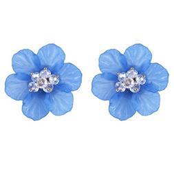 YJYdada Earring, Steel Gold Women Girl Earrings Fashion Jewe