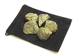 Zentron Crystal Collection: 1/2 Pound Natural Rough Pyrite F
