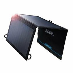 Anker A2421011 21W 2-Port Universal Solar Power Charger - Bl