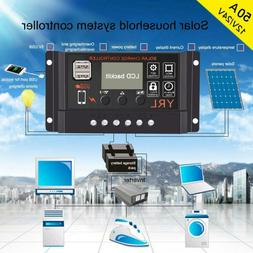 AC220V 1500W Solar Panel Kit Controller Inverter Home Batter