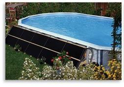 2-2'x10' Add-on Solar Pool Heater w/ Deluxe Mounting Kit