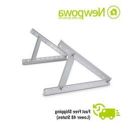 Newpowa Adjustable Solar Panel Mounting Bracket RV Boat Fold