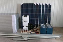 Suntye Advanced Solar Kit #8: 48V, 7.36kW solar system -10 s
