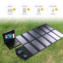 ALLPOWERS 12V 18V 80W Foldable USB Solar Panel Battery Charg
