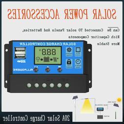 ALLPOWERS 12V/24V Solar Charger Controller Solar Battery Int