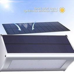 QITECO Aluminum Alloy Waterproof Microwave Radar Led Solar O