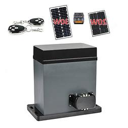 ALEKO AR750SOL Solar Compatible Gear Driven Sliding Gate Ope