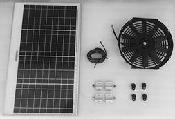 30 Watt Solar Attic Fan