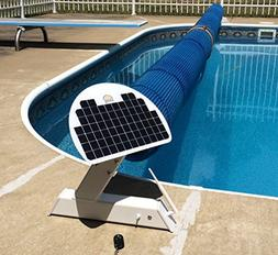 Automatic Solar Blanket Cover Reel/Roller - Remote Controlle