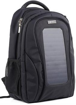 LifePod Backpack with Solar Panel and USB Port to Power All