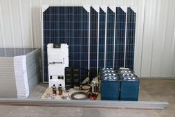 Suntye Basic Solar Kit #7: 48V, 5.52kW solar system - 8 stri