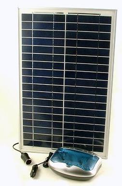 20 Watt Solar Battery Charger for AAA, AA, C, D & 9V Batteri