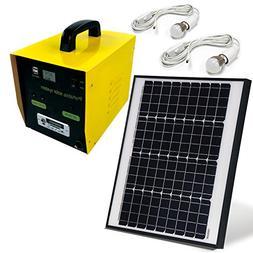 ALEKO BCH02K17AH Solar Outdoor Generator, 12V 50W, 17AH with