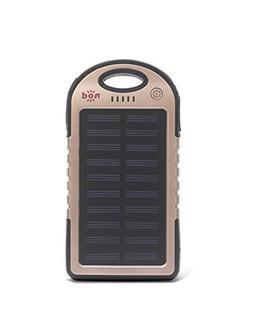 Beam Bank Portable Power Bank & Solar Charger-Rose Gold