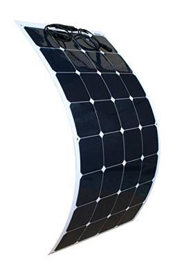 WindyNation 100W 100 Watt 12V Bendable Flexible Thin Lightwe