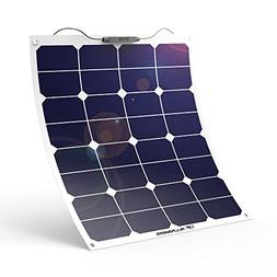ALLPOWERS 18V 12V 50W Bendable SunPower Solar Panel Water/Sh
