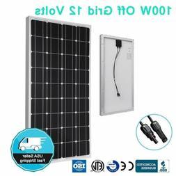 Best Seller 100 Watt 100W Poly  Solar Panel 12V Off Grid Bat