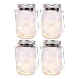 Moko Bottle String Light,  Solar Powered Mason Jar Light Set